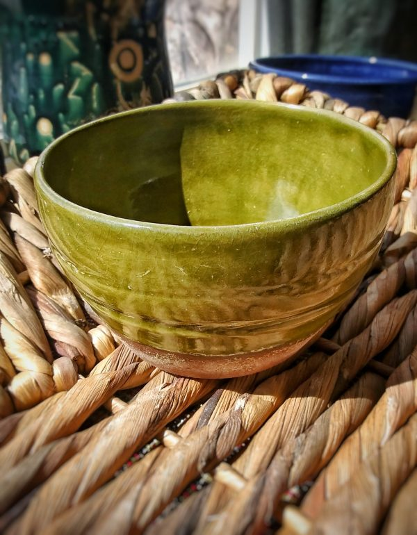 Lusterous Jade Bowl