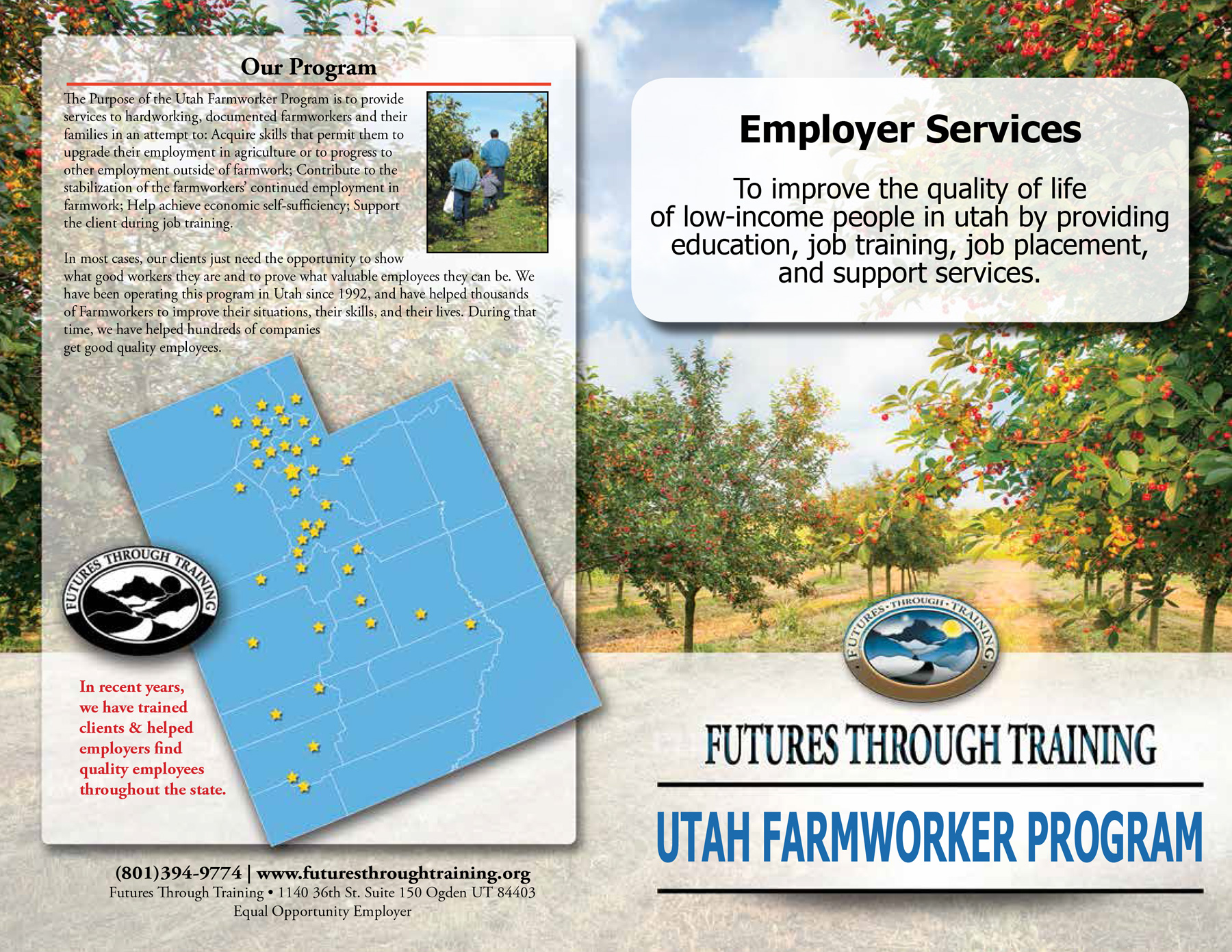 Employer Services Brochure, 2016