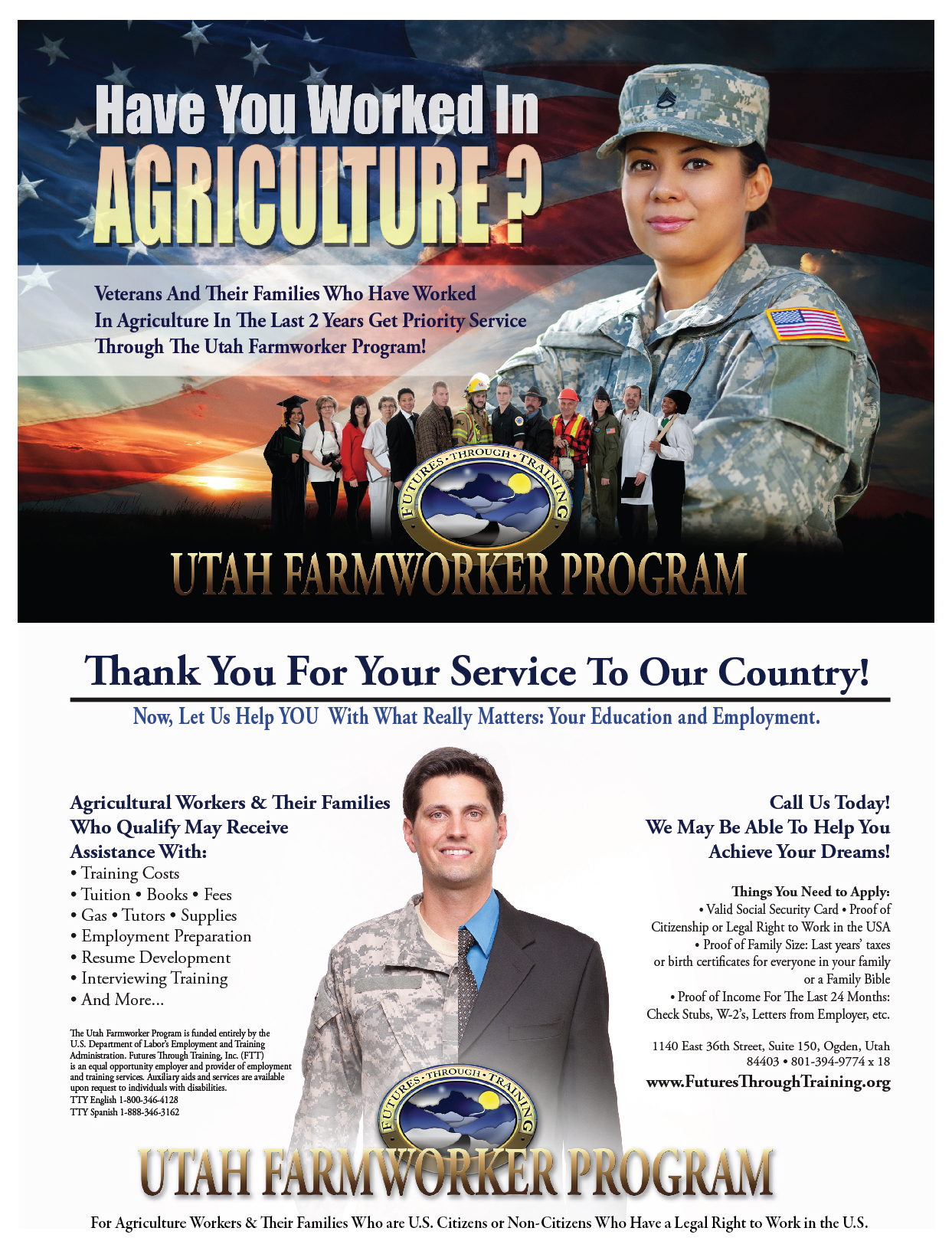 Veterans Program Direct Mail